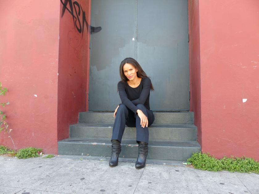 Amanda Garrigus - Black Ankle Boots