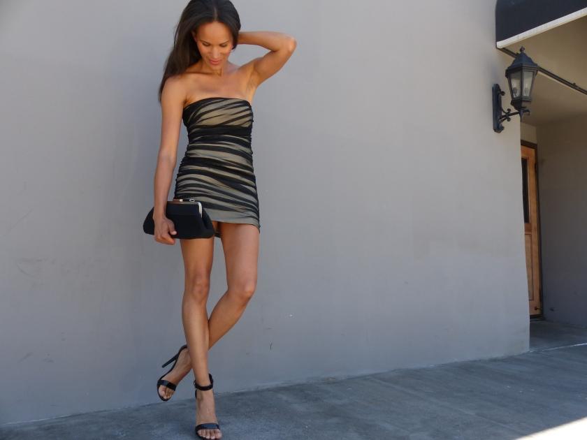 Amanda Garrigus - A/X Armani Exchange LBD