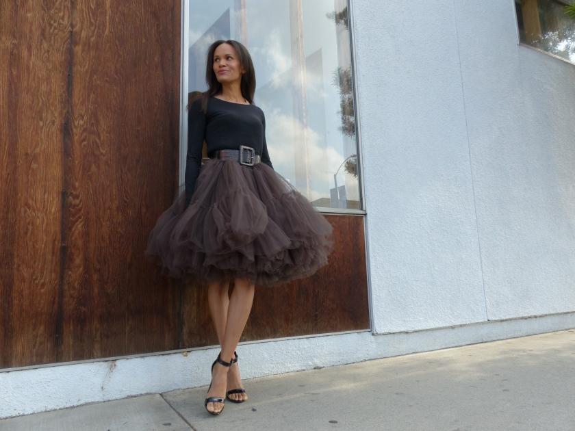 Amanda Garrigus - Black Tulle Skirt