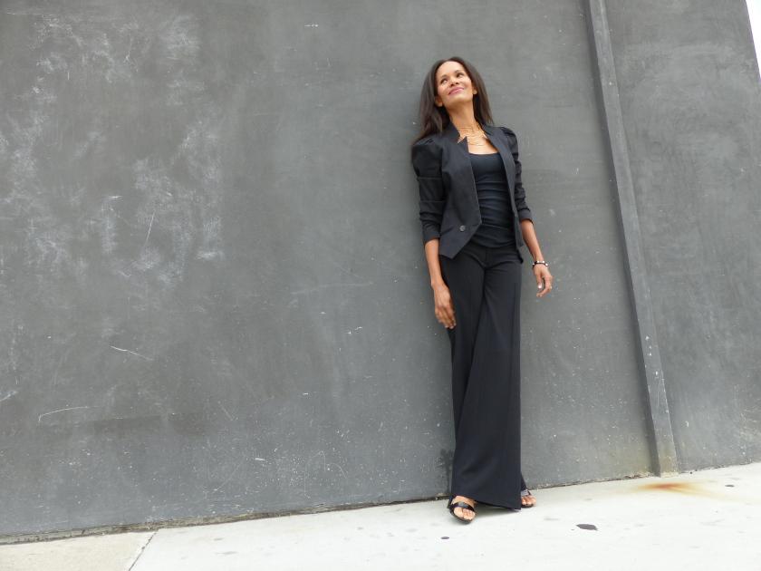 Amanda Garrigus - Black Suit