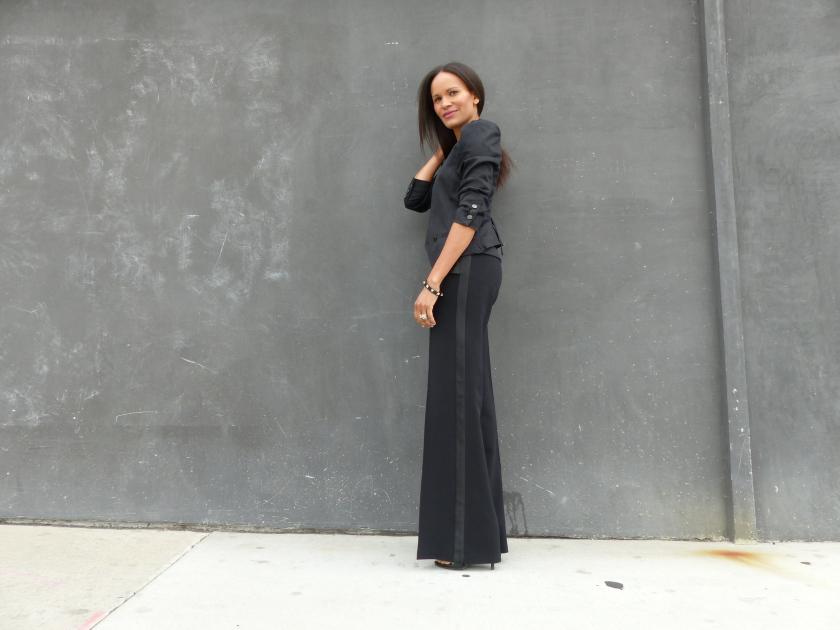 Amanda Garrigus - Tuxedo Pant
