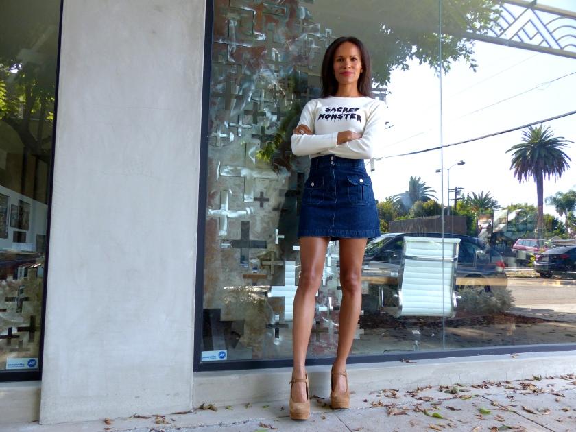Amanda Garrigus - Alexa Chung for AG