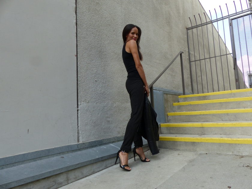 Amanda Garrigus - Black Jogger Pants