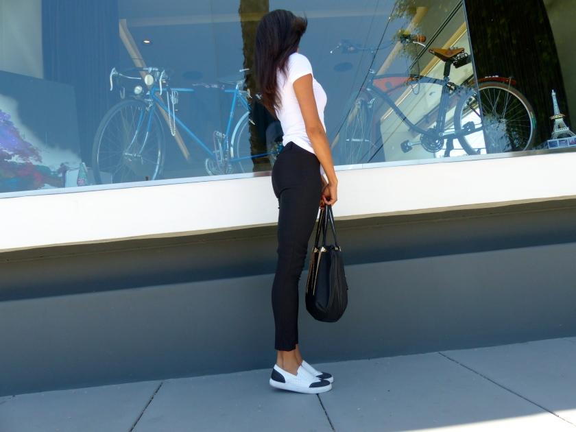 Amanda Garrigus - Forever 21 Capri pants