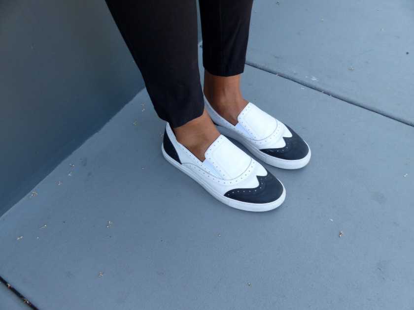 Amanda Garrigus - Kenneth Cole Spectator sneakers