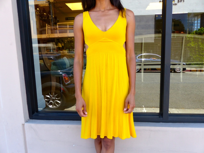 Amanda Garrigus - Rachel Pally Yellow Dress