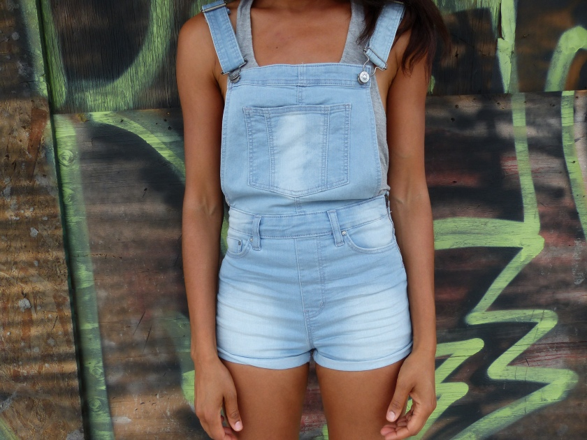 Amanda Garrigus - Light Washed Overalls