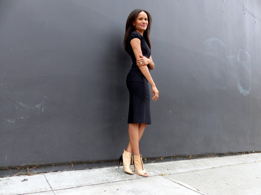 Amanda Garrigus Black Stop Staring Dress