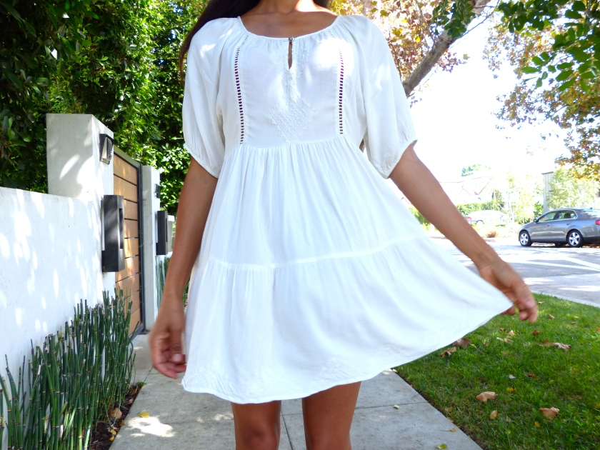 Amanda Garrigus Forever 21 white summer dress