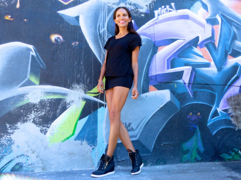 Amanda Garrigus Platform Sneakers
