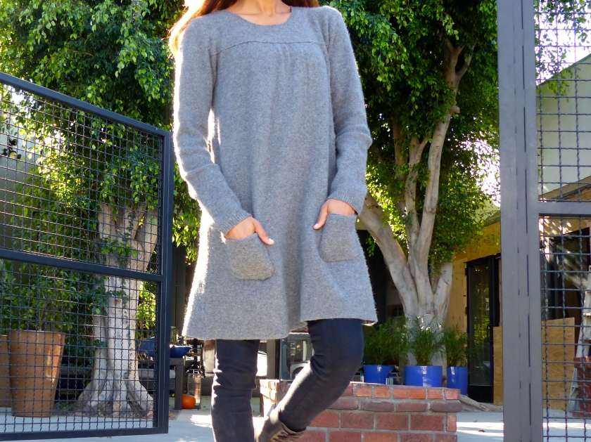 Amanda Garrigus in Calypso St. Barth Cashmere Sweater Dress
