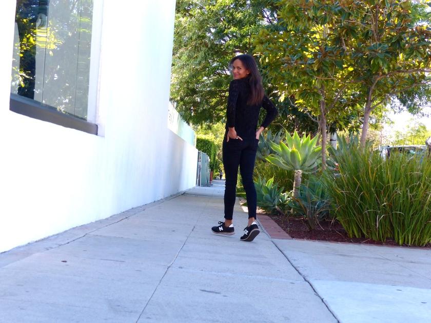 Amanda Garrigus New Balance Sneaks