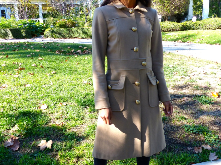Amanda Garrigus Camel Military Coat by Edward An