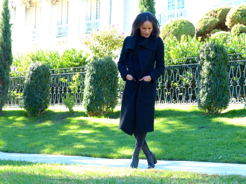 Amanda Garrigus Cornell Collins Shawl Coat