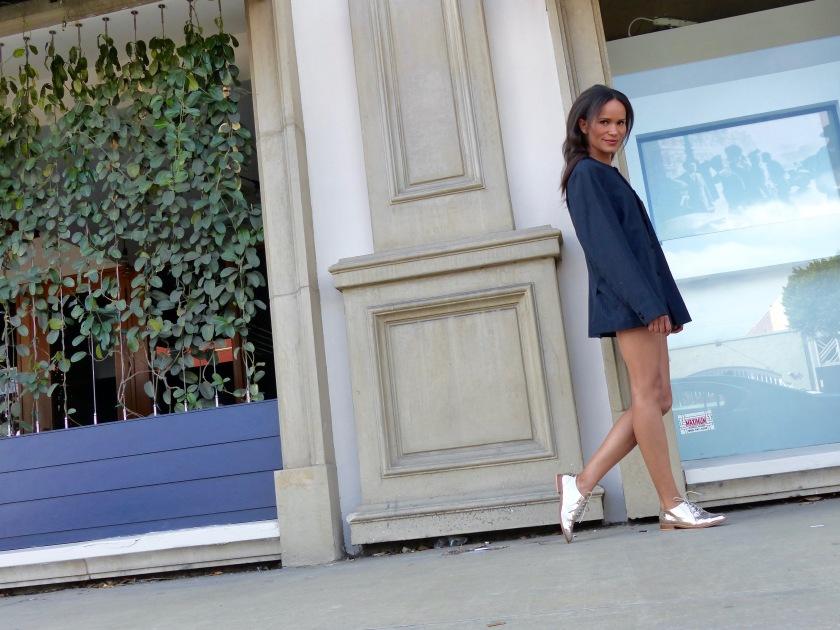 Amanda Garrigus in Menswear