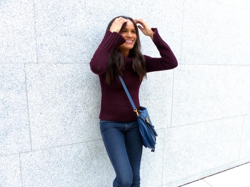 Amanda Garrigus Maroon Gucci Sweater