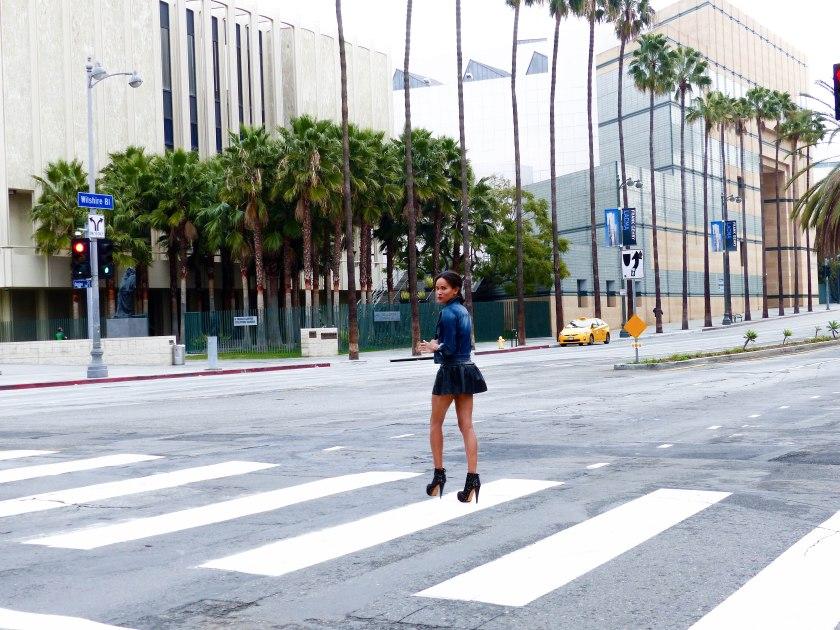 Amanda Garrigus Pleather Forever 21 Dress by LACMA