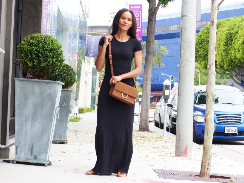 Amanda Garrigus Forever 21 Black t-shirt dress Dress