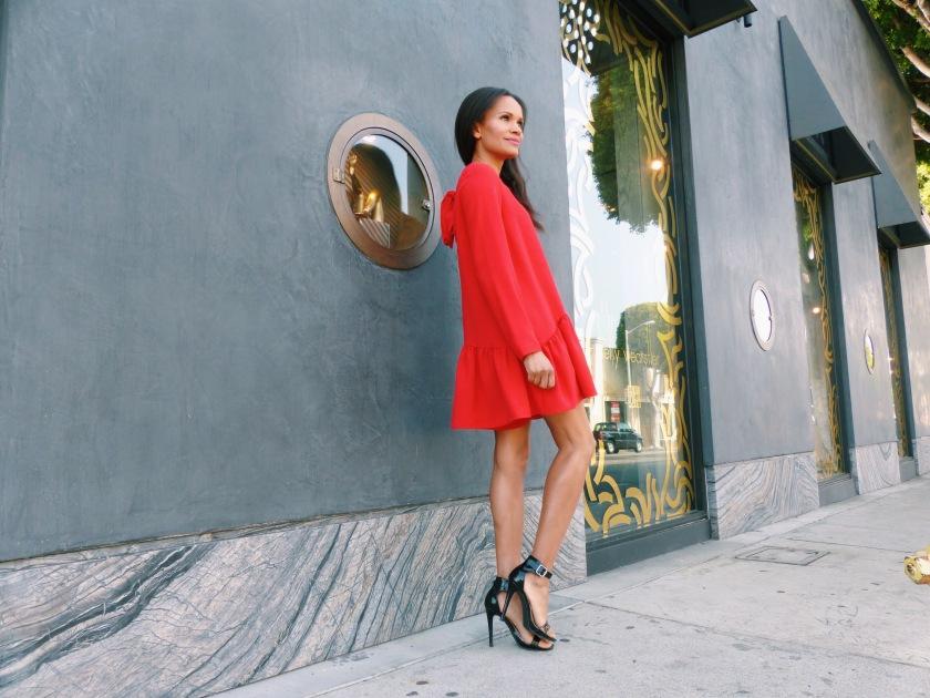 Amanda Garrigus wearing Zara romper
